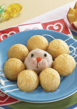 【造型親子料理】♪ 音樂黃金小海獅 ♫