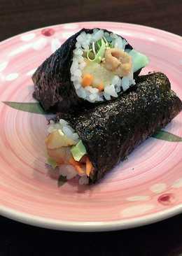 薑汁燒肉鳳梨海苔飯捲