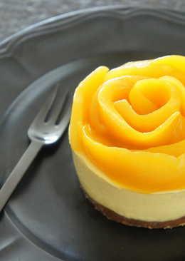 【免烤】芒果起士蛋糕