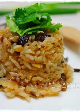 【古早味油飯】傳統電子鍋料理