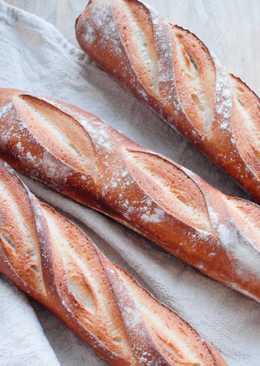 【影片】法國長棍麵包 Baguette