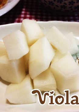韓國白蘿蔔泡菜