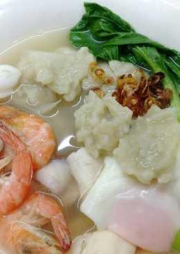 海鮮羅勒麵疙瘩