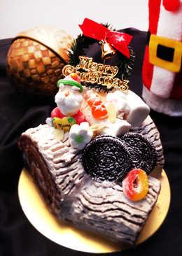 聖誕節樹幹蛋糕 Christmas Chocolate Log