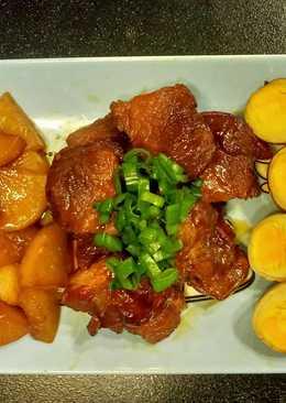 日式蘿蔔燒肉