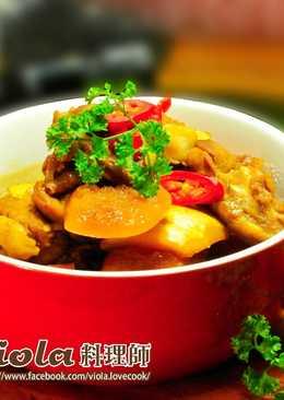 黑麥汁南瓜燒雞