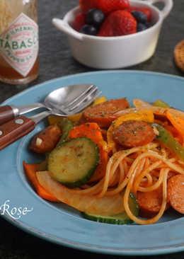 那不勒斯風味的義大利麵