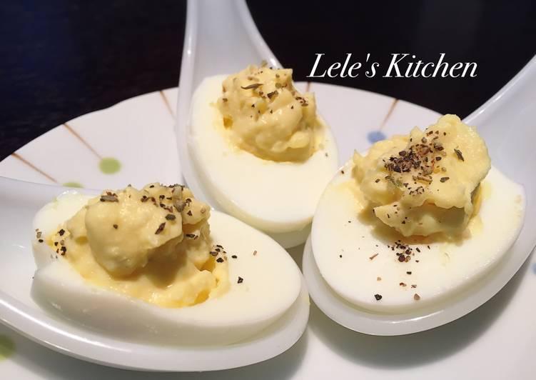 【Party開胃菜】Deviled Eggs魔鬼蛋