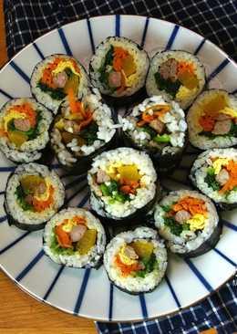 秘訣就在細節裏-《韓式紫菜飯卷》