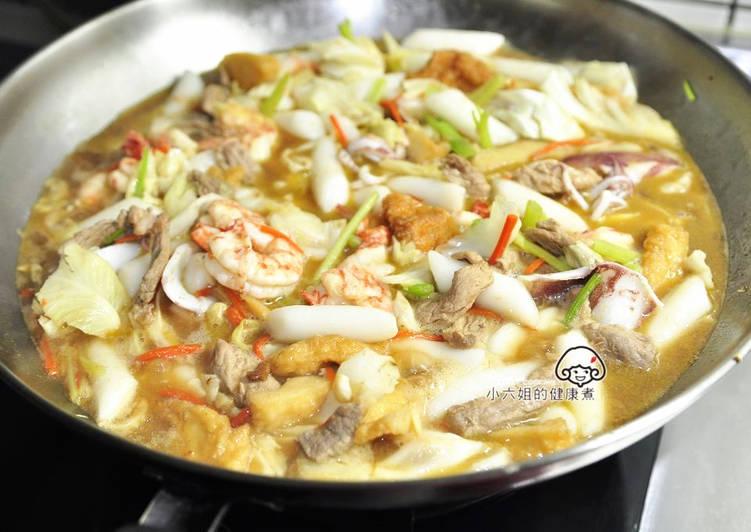 海鮮年糕湯