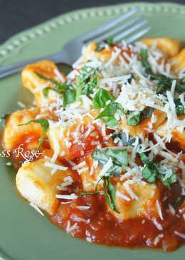 茄汁馬鈴薯麵疙瘩(Gnocchi)