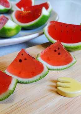 【西瓜兒草莓果凍】