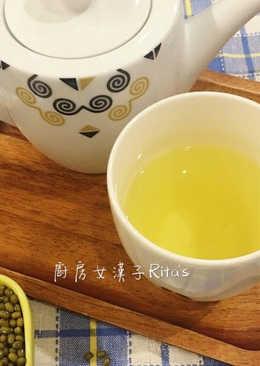 排毒去火綠豆水+綠豆薏仁甜湯