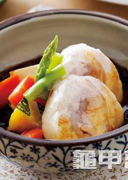【燉煮好入味】嫩雞豆腐味噌燒