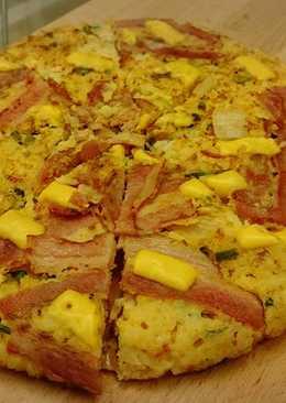 香煎米披薩