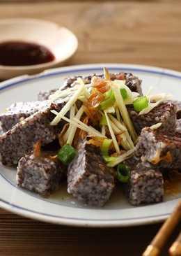 【家樂福食譜】豬血糕拌鵝油香蔥