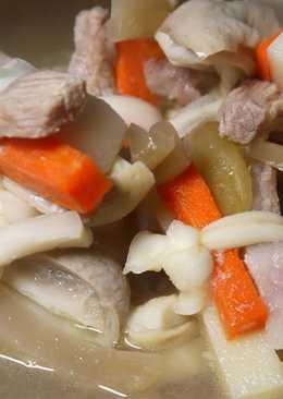 酸菜豬肚蒲阿結湯(胡瓜結)