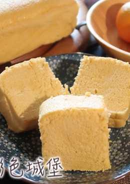 黑糖枕頭蛋糕 (燙麵法+水浴法)