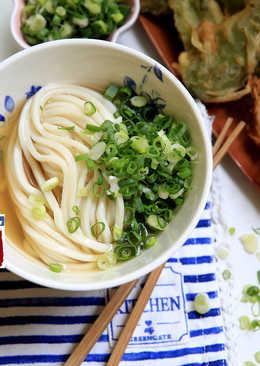 烏龍麵,湯頭做法。