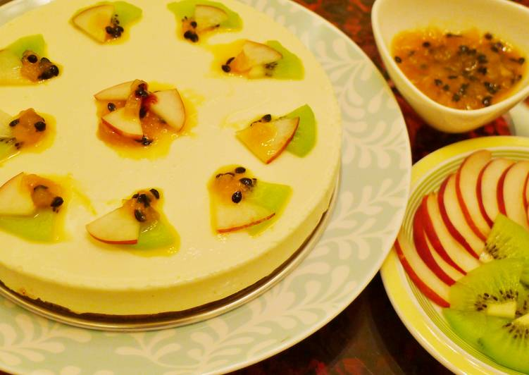 生乳酪蛋糕~免烤箱喲^^