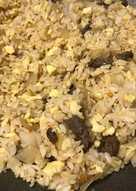 牛肉干貝洋蔥蛋炒飯