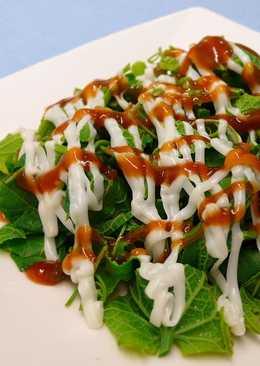 千島醬龍鬚菜沙拉 ★冷盤龍鬚菜2★