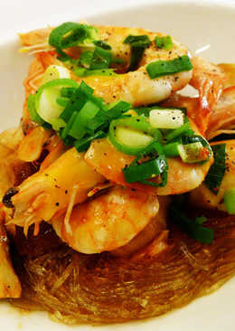 雙菇蝦煲(豆油伯純釀醬油食譜)