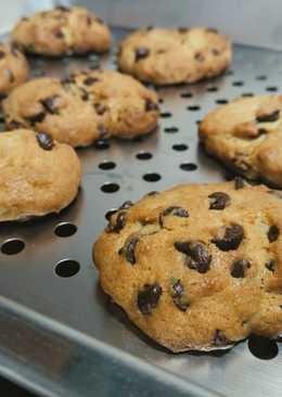 巧克力豆餅乾(chocolate chip cookies)