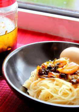 Diy蒜蔥油&香噴噴乾拌麵