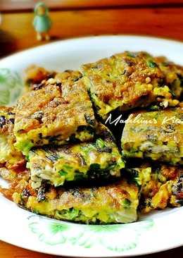 韭菜石蚵煎