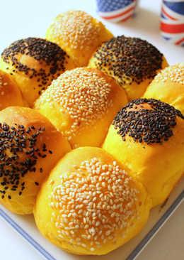 芝麻南瓜餐包(冷藏法)