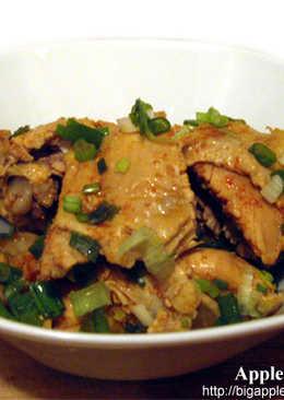 簡單做鹹水雞~Spicy boiled chicken