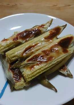焗烤脫皮辣椒玉米筍