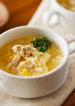 雞蓉玉米濃湯