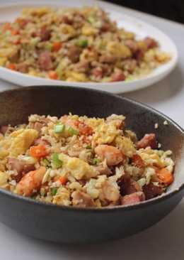 吃不胖的炒飯-花椰菜炒飯
