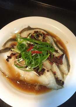 紅趜腐乳蒸鱈魚🐟