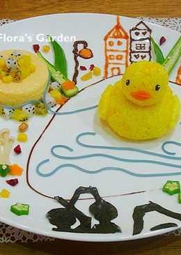 黃色小鴨布丁♫飯糰