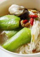 【厚生廚房】鮮蚵絲瓜麵線