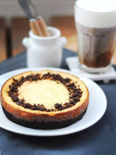 布朗尼起司蛋糕 Brownie cheesecake