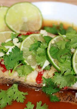 菲姐私房菜-泰式檸檬鱈魚