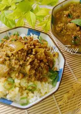 咖哩牛肉醬(飯)