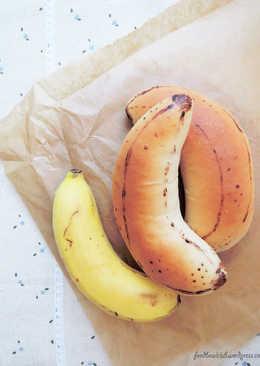 肉桂香蕉卡仕達餡麵包