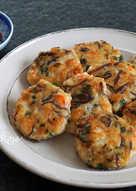 蝦仁雞肉餅