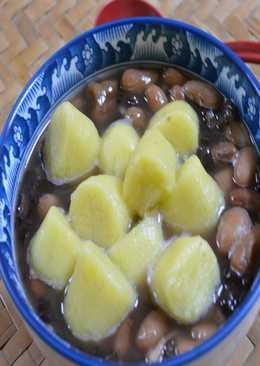 地瓜紅豆湯圓