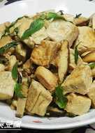ㄚ曼達的廚房~塔香臭豆腐