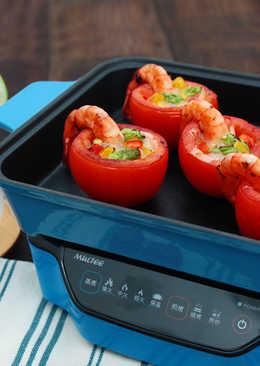【multee摩堤_鑄鐵鍋料理】蕃茄蔬食寶蓋盒
