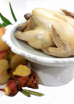 香蘭蔬果雞湯