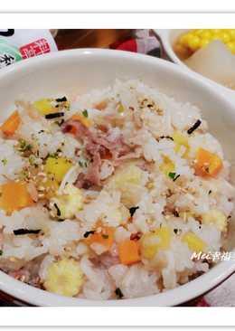 【醍醐味】簡單美味の高麗菜飯