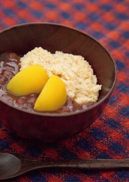 東販小食堂:糯小米紅豆湯