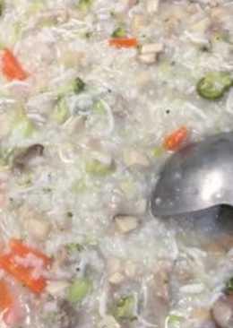 蔬菜排骨高湯_什錦鹹粥
